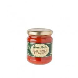 Sauce tomate piquillos